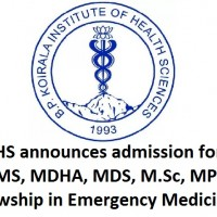 BPKIHS announces admission