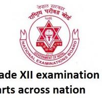 Grade 12 examination starts across nation