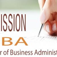 Admission MBA