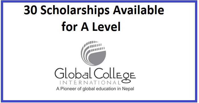 Global College International Merit Scholarships for 30 Seats