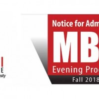 Rajdjani Model College Admission Open MBA Evening