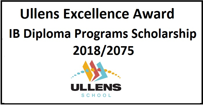 Ullens Excellence Award in IB Diploma Programs Scholarship