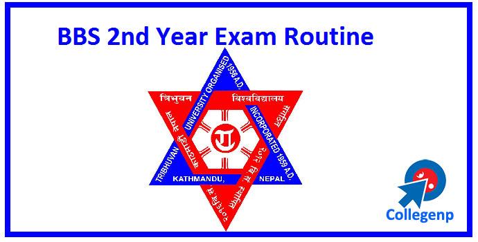 BBS 2nd Year Exam Routine