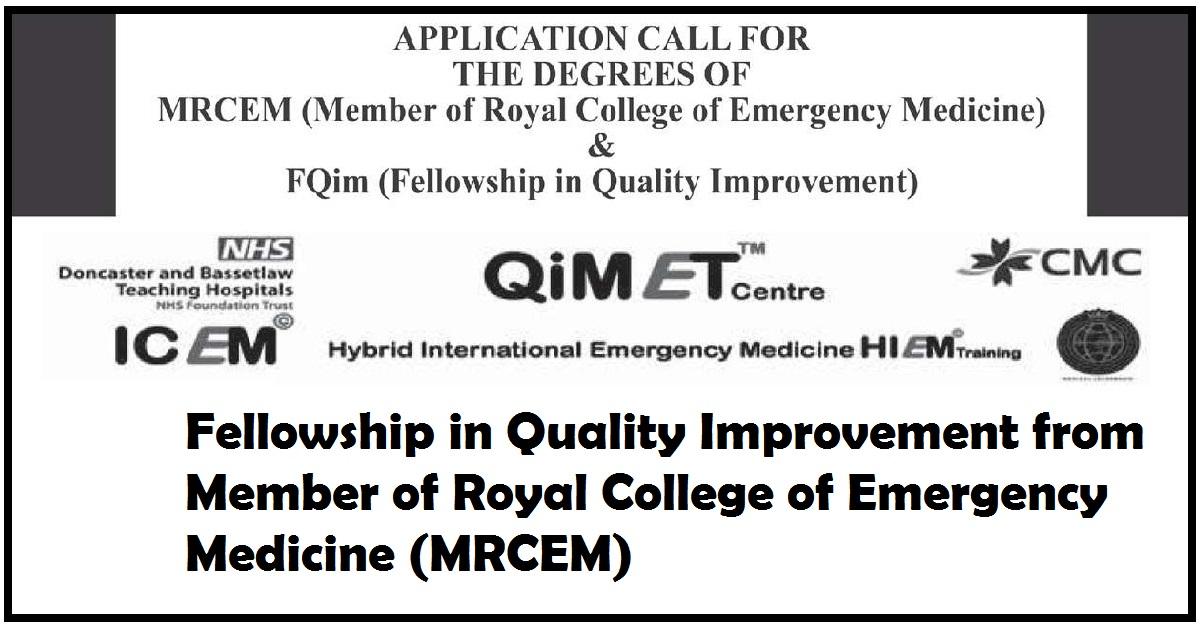 Member of Royal College of Emergency Medicine (MRCEM)