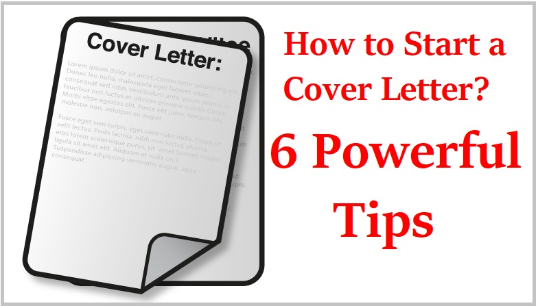 How To Start A Cover Letter With Powerful Tips Collegenp