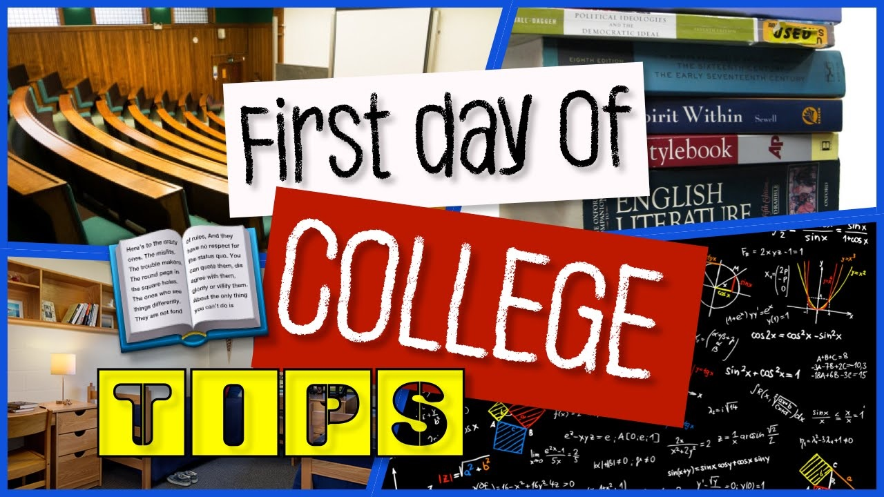 7 Things to Know Before Your First Day at College