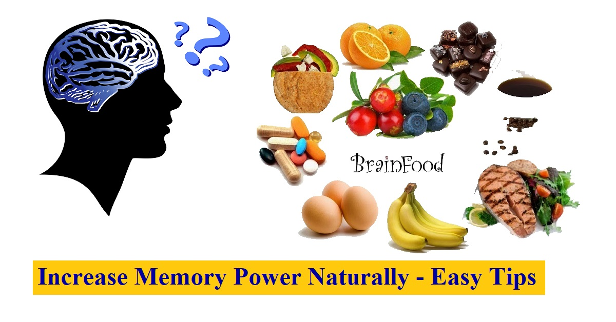 Increase Memory Power Naturally - Easy Tips