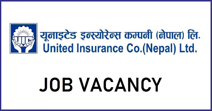 United Insurance Company Nepal Limited Vacancy
