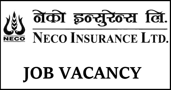 Neco Insurance Limited Vacancy