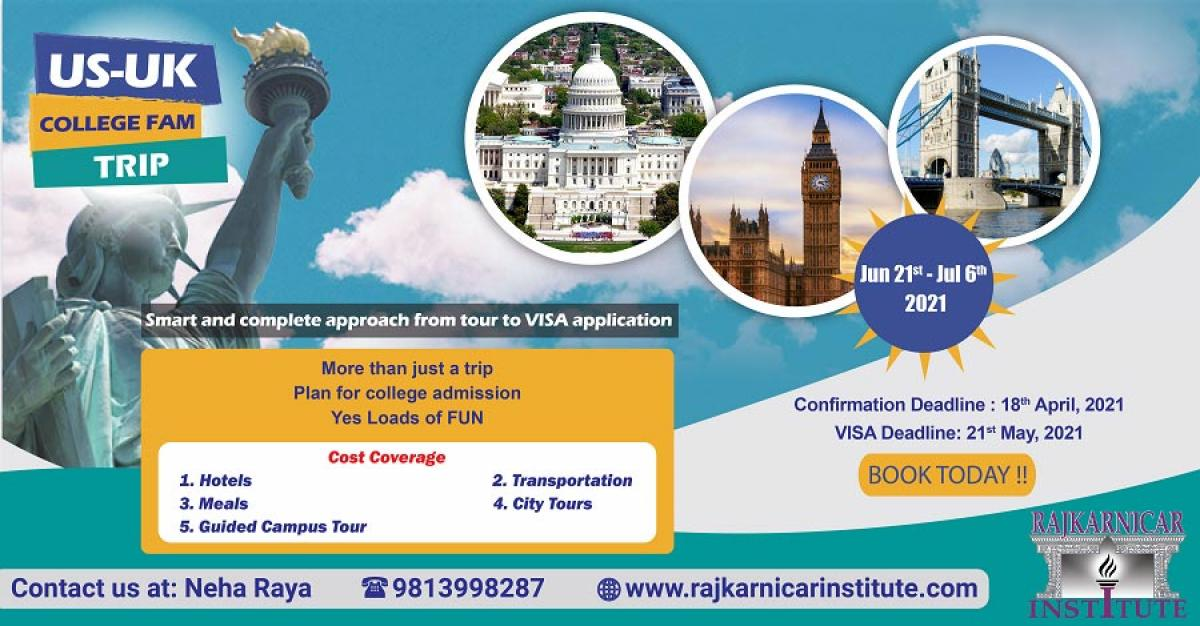 US-UK College FAM Trip 2021