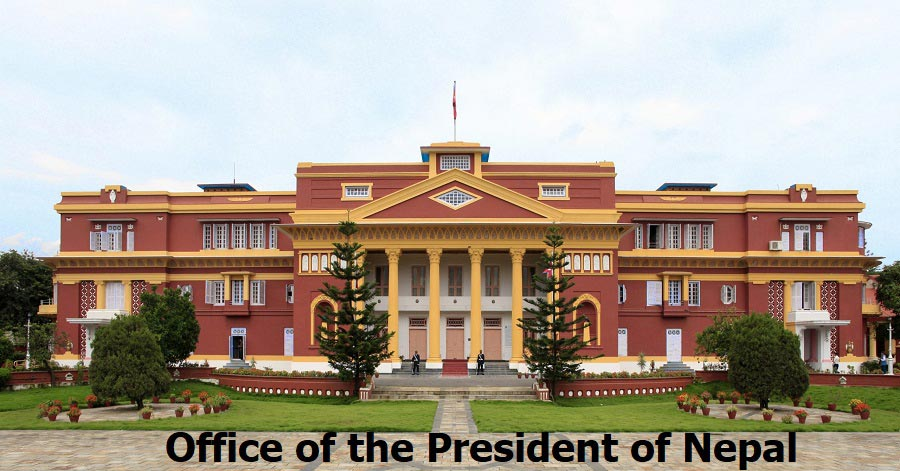 Office of the President of Nepal (Rastrapati Bhawan)