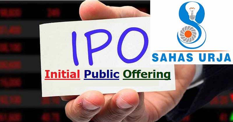 Sahas Urja Limited IPO